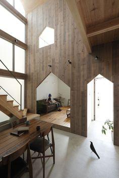 Hazukashi House, Kyoto by Alts Design Office