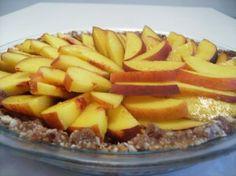 Raw Peach and Caramel pie 008