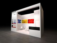 Stand Provital Group | PCHI 2013 | Xina by QUAM Brand Environment Design , via Behance