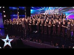 This Welsh 160-piece choir hits all the right notes | Audition Week 1 | Britain's Got Talent 2015 - YouTube