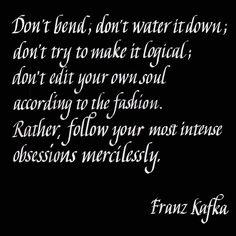 kafka quote #calligraphy #kafka