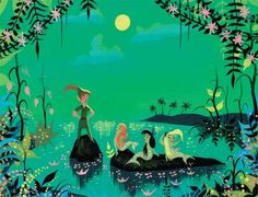 Image result for mary blair disney illustrator