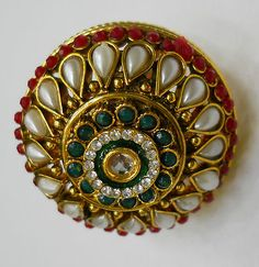 Rajputana ring- royal look in affordable prices. Pay less, get more!!!