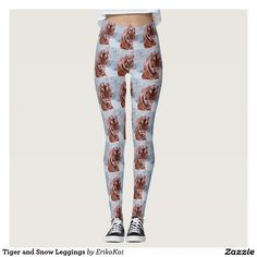 Tiger and Snow Leggings