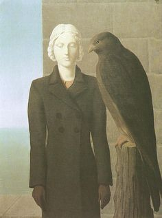 Rene Magritte: Deep Waters, 1941.