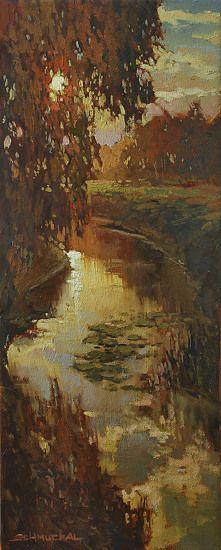 For J Kennedy by Jan Schmuckal Oil ~ 20 x 8