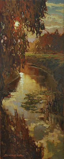 For J Kennedy by Jan Schmuckal Oil ~ 20 x 8