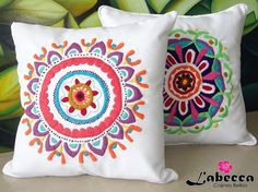 """Képtalálat a következőre: """"Keith Haring decor"""" Pillow Embroidery, Ribbon Embroidery, Cross Stitch Embroidery, Applique Designs, Embroidery Designs, Couch Cushion Covers, Crochet Cushions, Types Of Embroidery, Fabric Painting"""