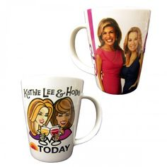 Today Show Kathie Lee & Hoda Mug. Love it, I just wish they had made a kl wine glass instead ;)