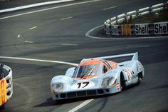 Porsche 917 Siffert/Bell in Le Mans 71