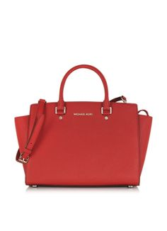 Michael Kors Selma Large Top Zip Satchel