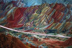 Zhangye, China | 25 Places That Look Not Normal, But Are Actually Real