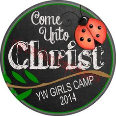 Pocket Mirrors for YW Young Women Girls Camp 2014 Come Unto Christ Theme Super Sale Price on Quantity purchases. Great Secret Sister Gifts. etsy.com/shop/TempleSquares
