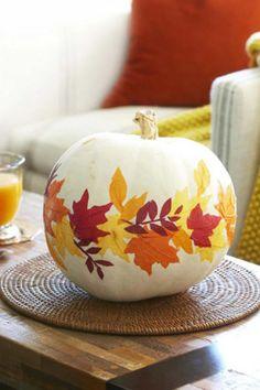 No-Carve Pumpkin - CountryLiving.com