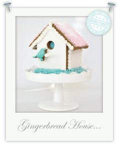 Mini gluten free gingerbread houses by Torie Jayne