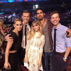Bex Taylor-Klaus, Connor Weil, Carlson Young, Tom Maden, and John Karna