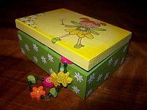 Krabičky - Pre malú parádnicu - 1354125