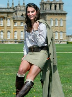 Prince William And Kate Middleton pictures - Catherine at Blenheim Palace, 2004 - Woman And Home