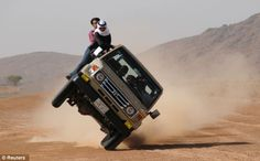 Daredevil Saudi Arabian Land Cruiser
