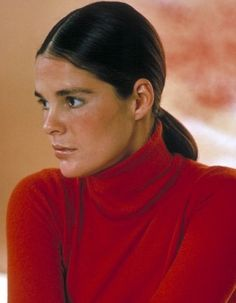 Ali Macgraw completes the trio, with others to come
