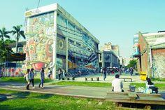 Pier 2, un lieu art à Kaohsiung qui vous fait tourner la tête partout tel un hibou ! #Taiwan
