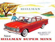 Hillman Super Minx sedan