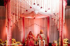 This traditional Rajput Indian wedding is a beautiful event.