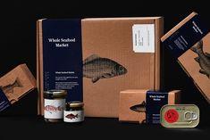 Seafood Gumbo, Seafood Market, Food Packaging Design, Branding Design, Cafe Branding, Bakery Packaging, Beverage Packaging, Packaging Ideas, Seafood Broil