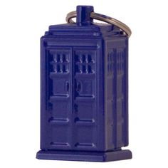 Doctor Who: Tardis Emergency Fund Key Fob, it's a key fob and an Emergency fund all in one. For those times you just need a little bit of cash.    Geeze, I have this one too