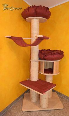 Ersatzbetten – Set für Kratzbaum Natural Paradies Scratching Post, Paradise, Bed, Handarbeit