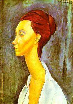 Amadeo Modigliani.   Portrait Of Lunia Czechovska