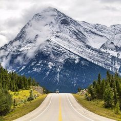 Photo: @chrisburkard Nothing beats a good trip to a new place; the excitement of jumping in the car to go see new horizons is possibly my favorite feeling in the world. The Icefields Parkway is a beautiful but  extremely dangerous road in the winter yet in the summer it's one of the most scenic roads in Alberta with epic views around every corner. If you make it out there I highly recommend that you drive with your camera close at hand - at any given moment you are likely to come across a…