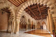 Palacio de la Aljafería in Zaragoza, Aragon | Spain