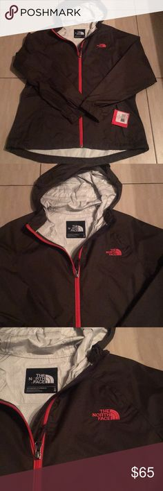 Women's North Face light weight jacket size L Women's North Face light weight jacket size large. Two zippered pockets and hood. North Face Jackets & Coats