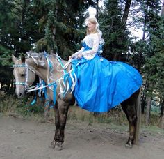 Susan Pearson-Over and Timber Over on Grace  2015 Triple Crown Costume Contest