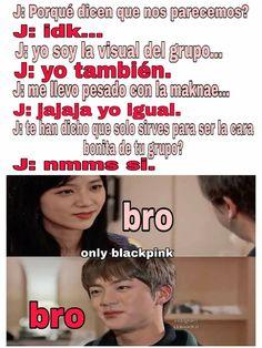 Memes Blackpink, Fandom Memes, Foto Bts, Perfect Smile, Blackpink And Bts, Blackpink Photos, Bts Chibi, Bts Lockscreen, Namjin