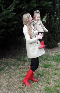 1440a42ad96e April Showers Mother Daughter Mommy and Me Spring Fashion Outfit  Inspiration {Style Savvy Sara}