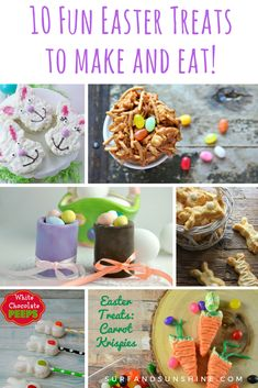 10 Fun Easter Treats