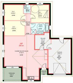 Maisons Plain Pied 3 Chambres Construites Par Demeures Familiales
