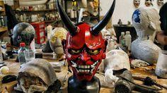 Oni / Hannya Maske von EnekaCreations auf Etsy