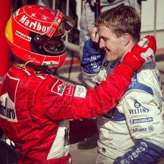 """""""It was a day of milestones for the Schumacher brothers #onthisday in 2002. Michael started from pole for the 50th time in his career at Suzuka while Ralf…"""""""