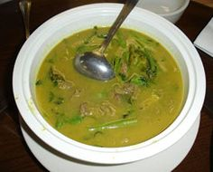 Samlor Machu lemongrass chicken lemon soup