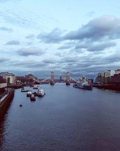 London Bridge  #londonbridge #london #towerhill #afternoon #evening #spring by siljuz