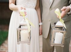 summer wedding ideas...pottery barn lanterns