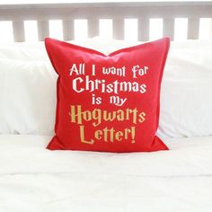 "The perfect Christmas decoration for Muggles: ""All I want for Christmas is my Hogwarts Letter!"""