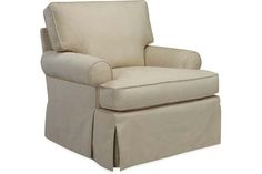 Lee Industries 3581-01 Chair Overall: W35  D36  H35   Inside: W21  D21  H16   Seat Height: 18 Arm Height: 23 Back Rail Height: 28