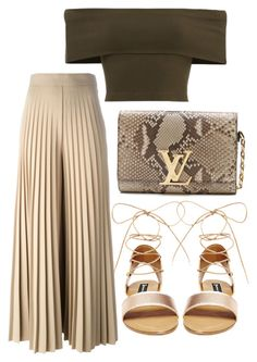 """""""Untitled #328"""" by milly-oro on Polyvore featuring Steve Madden, Louis Vuitton and Givenchy"""