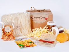 GrubKit Giveaway! Enter to win 1 of 3 Gourmet GrubKits at www.everydaymaven.com