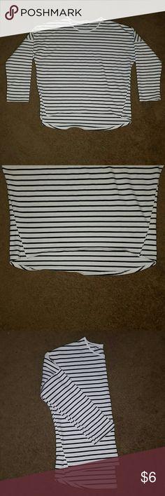 Spotted while shopping on Poshmark: Striped long sleeve💟👍🙌! #poshmark #fashion #shopping #style #Tops