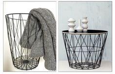 Kvickly trådkurv VS Ferm living wire basket
